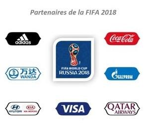 Partenaires FIFA Coupe du Monde 2018