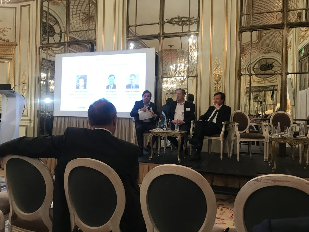 Nouvelles technologies financement economie table ronde 1 mai 2019