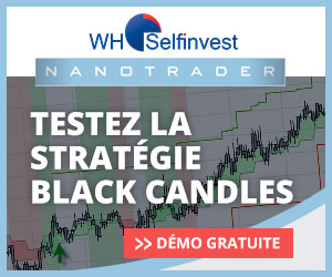WH Selfinvest black-candles
