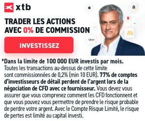 Trader actions avec XTB